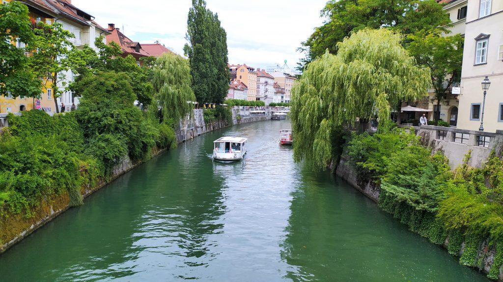 Ljubljanica boat