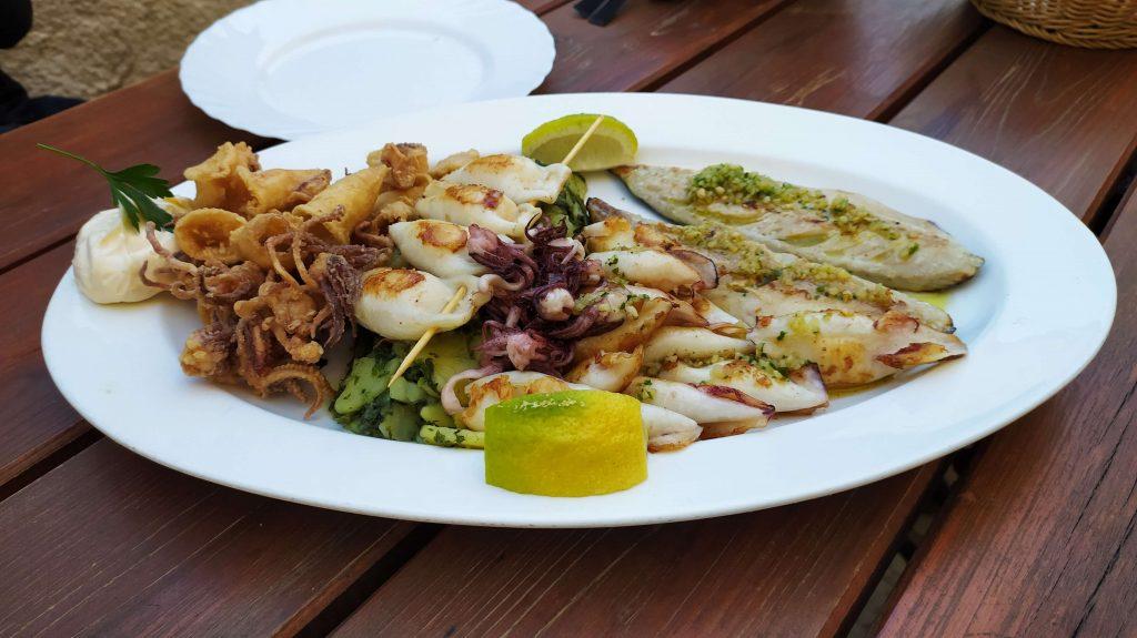 Piran local food