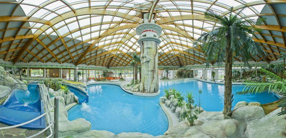 Terme Čatež inside pools